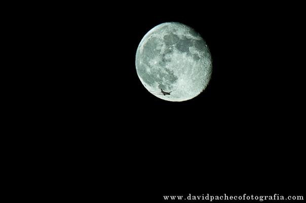 avion en luna